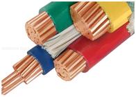 De Bonne Qualité XLPE câble d'alimentation isolés & câbles isolés par PVC de conducteur de l'en cuivre 1000V adaptés aux besoins du client avec le demi noyau trois disponibles à la vente